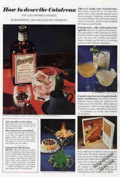 "Cointreau Liqueur ""How To Describe"" (1968)"