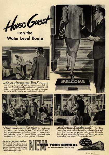 New York Central System's Water Level Route – House Guest – on the Water Level Route (1949)