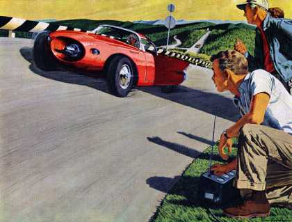 "Tomorrow's ""dream"" is our job today! Bower Roller Bearings, Bruce Bomberger (1957)"