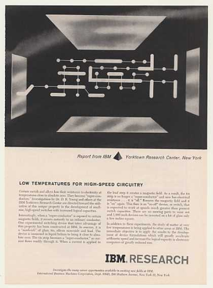 IBM Research Super-Conductor Circuit (1959)