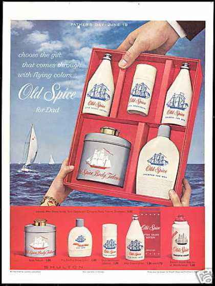 Shulton Old Spice Fathers Day Sailboats (1960)