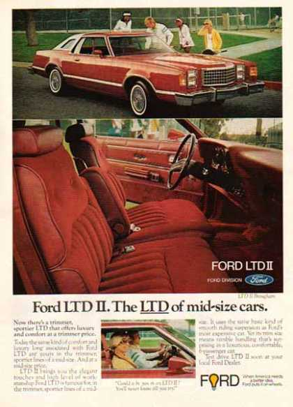 Ford Car – Ford LTD II / 2 tone Red (1976)