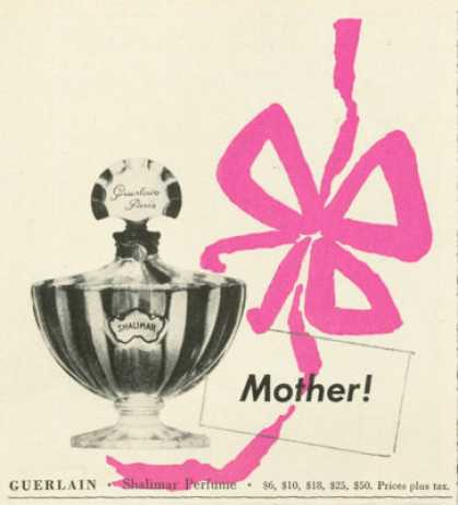 Guerlain Shalimar Perfume for Mother (1961)