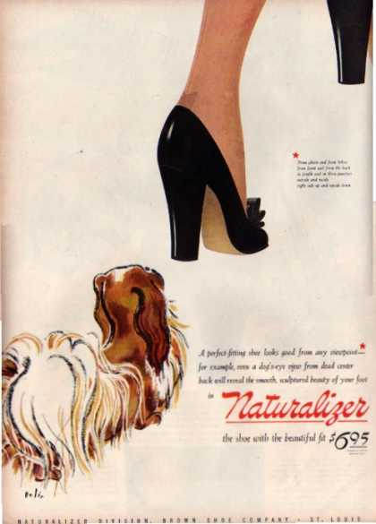 Naturalizer Womens High Heel Shoes Dog Bolin (1944)