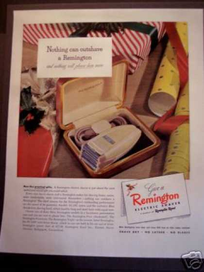 Remington Electric Shaver For (1947)