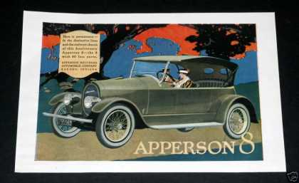 Apperson 8, Automobile (1918)