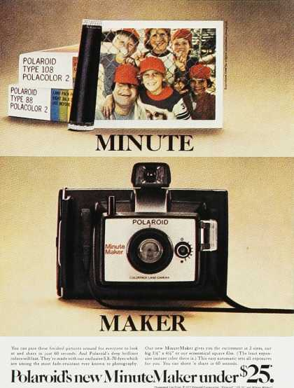 Polaroid Minute Maker