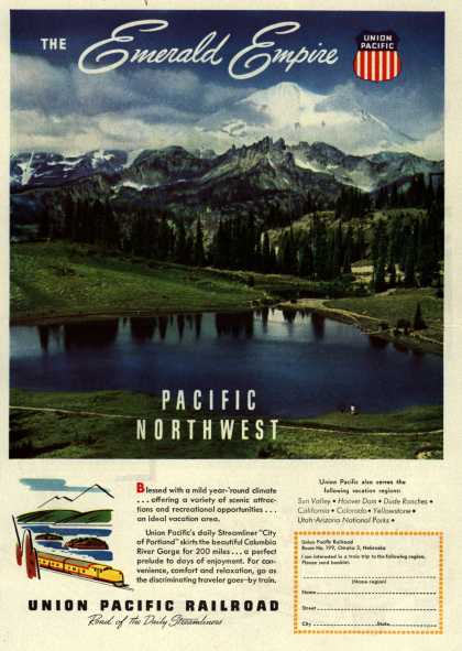 Union Pacific Railroad's Pacific Northwest – The Emerald Empire Pacific Northwest (1948)