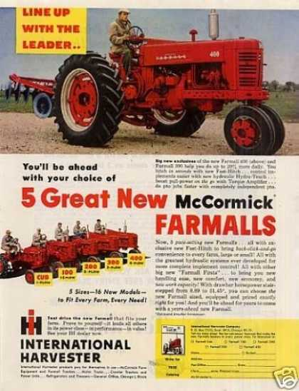 International Harvester Farmall 400 Tractor (1955)