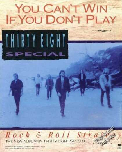 Thirty Eight Special Picture Album Promo (1988)