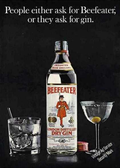 """People Ask for Beefeater or Gin"" Nice (1973)"
