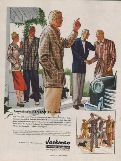 Jackman Custom Originals Clothing (1947)
