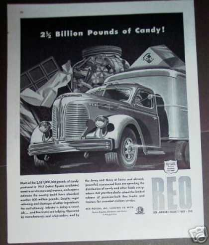 Wwii Sugar Rationing Reo Truck (1945)