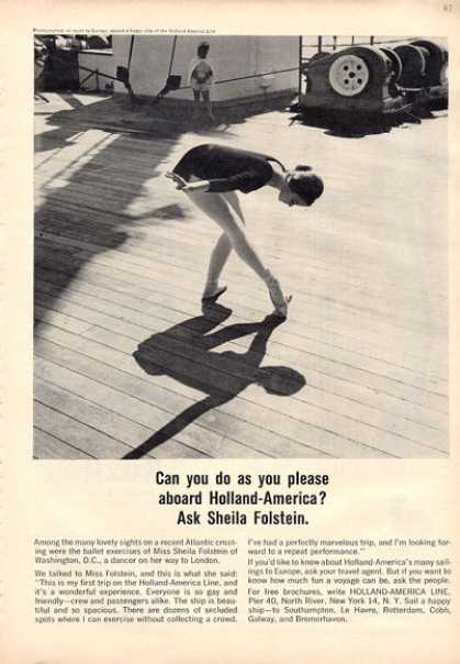 Holland America Cruise Ship Sheila Folstein (1964)