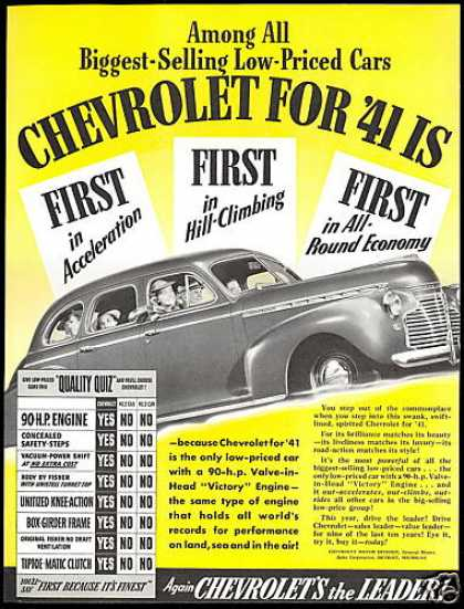 Chevrolet Car First's Quality Quiz (1941)
