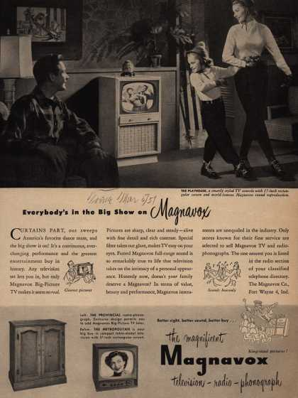 Magnavox Company's Television – Everybody's in the Big Show on Magnavox (1951)