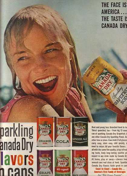 Canada Dry's Canned Soft Drinks (1961)