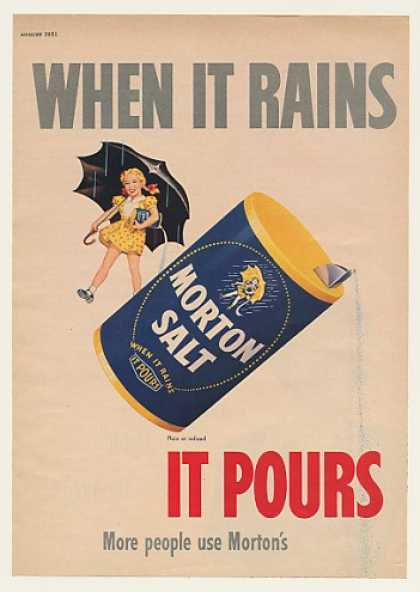 Morton Salt Girl When It Rains It Pours (1951)