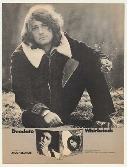 Deodato Whirlwinds MCA Records Photo (1974)