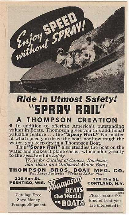 Thompson's Spray Rail (1943)