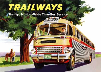 Trailways Bus System (1950)