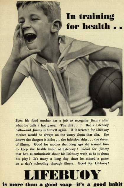 Lever Brothers Company's Lifebuoy Health Soap – In training for health.. (1932)