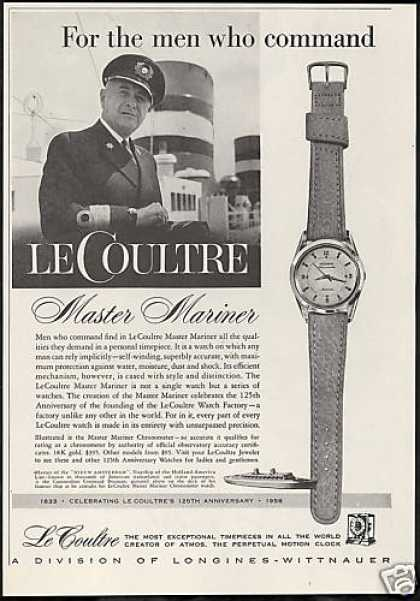 LeCoultre Mariner Watch Photo (1958)