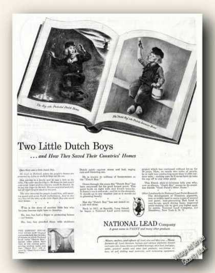 Dutch Boy Paint National Lead Co (1946)