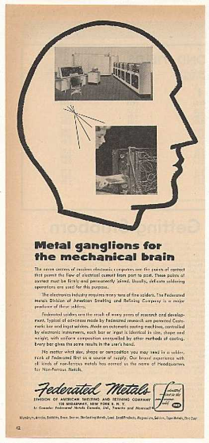 Federated Metals Electronic Computer Brain (1955)