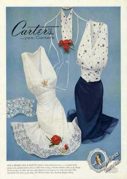 Carter's Nylon Tricot Two-in-one Nice Fashion (1954)