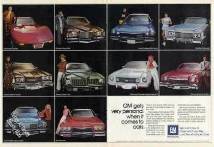 Chevrolet Corvette & 9 Other Gm Car Photos Nice (1974)