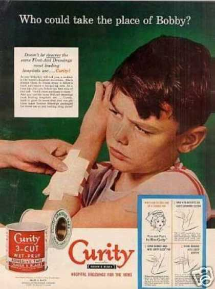 Curity First-aid Dressings (1952)