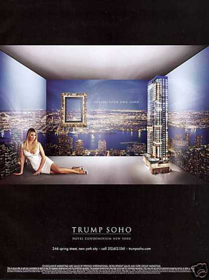 Ivanka Trump Photo New York Soho Hotel Condo (2007)
