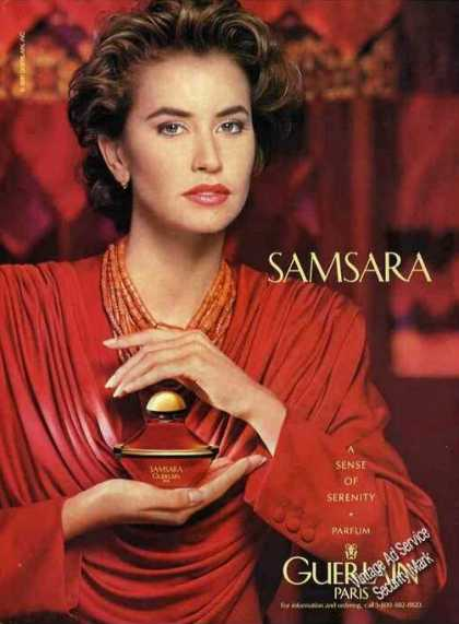 Samsara Parfum By Guerlain Paris (1991)