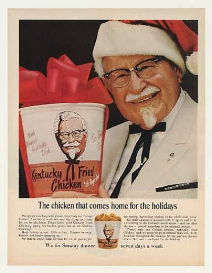 '67 Col Sanders KFC Kentucky Fried Chicken (1967)
