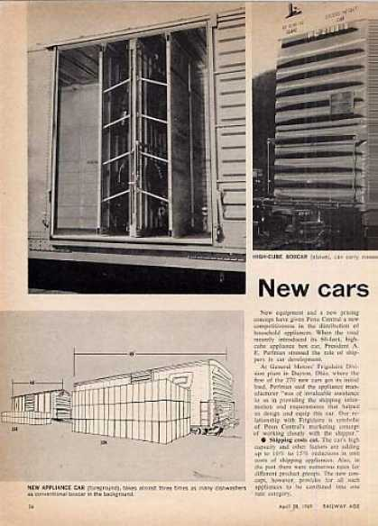 """New Cars Cut Haul Costs"" Article/penn Central (1969)"