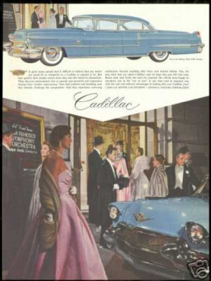 San Francisco Vintage Cadillac 60 Special Photo (1956)