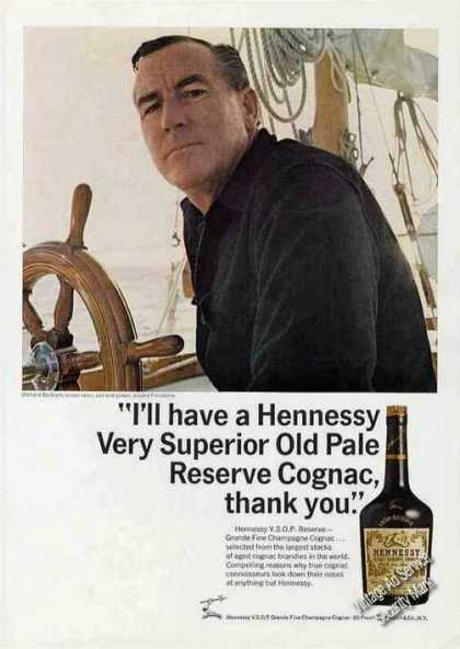 Hennessy Very Superior Old Pale Reserve Cognac (1968)