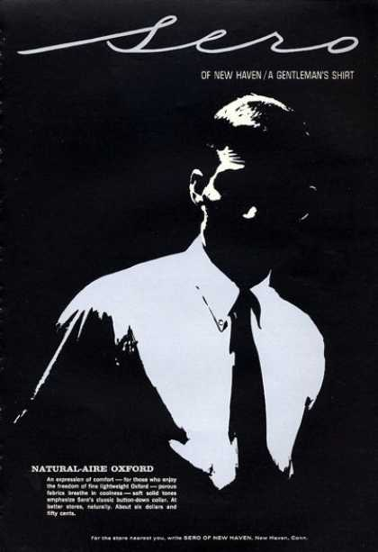 Sero New Haven Oxford Shirt Fashion Art (1965)
