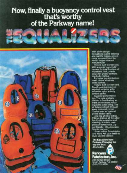 Parkway Fabricators Buoyancy Control Vest (1980)