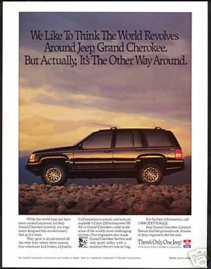Jeep Grand Cherokee Limited Vintage Photo (1993)