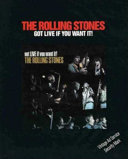 "Rolling Stones ""Got Live If You Want It!"" (1987)"