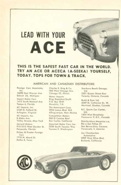 Ace Ac Sports Car (1958)
