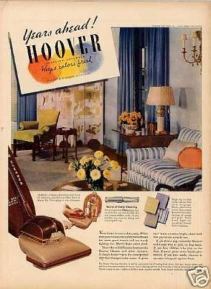 Hoover Vacuum Cleaner (1939)