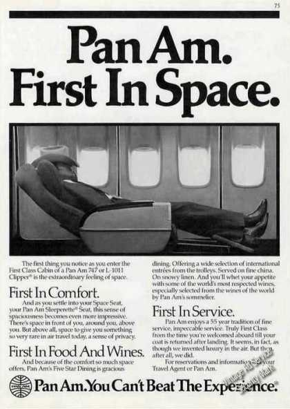 Pan Am First In Space (1983)