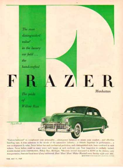 Frazer Car – Handcrafted Frazer Manhattan (1949)