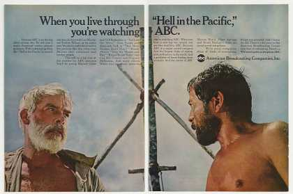 Lee Marvin Hell in the Pacific Movie ABC-TV 2-P (1969)