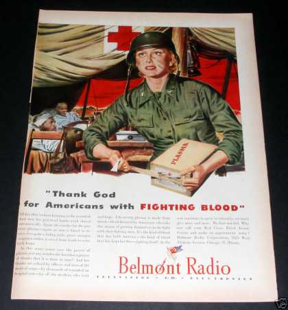 Belmont Radio at War, Fighting Blood (1944)