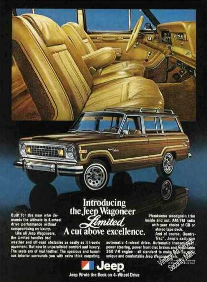 Jeep Wagoneer Limited Photos a Cut Above (1978)