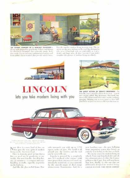 Lincoln Cosmopolitan Illustrated Chrome (1952)